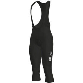 Alé Cycling Solid Winter Bib Pants Heren, black-white